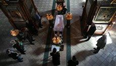 Церемония прощания с художником Ильей Глазуновым в соборе Сретенского монастыря