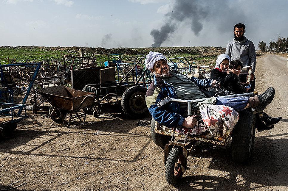 Операция в Мосуле, Ирак