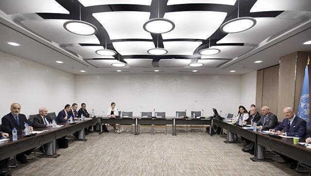 Седьмой раунд межсирийских переговоров в Женеве. 10 июля 2017