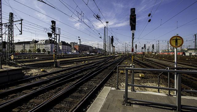 Железнодорожная станция. Архивное фото