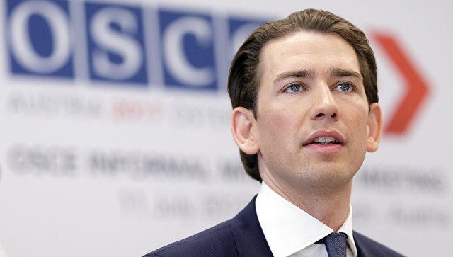 Канцлер Австрии Себастьян Курц: Турция, особенно в свете политики последних лет, не имеет места в ЕС