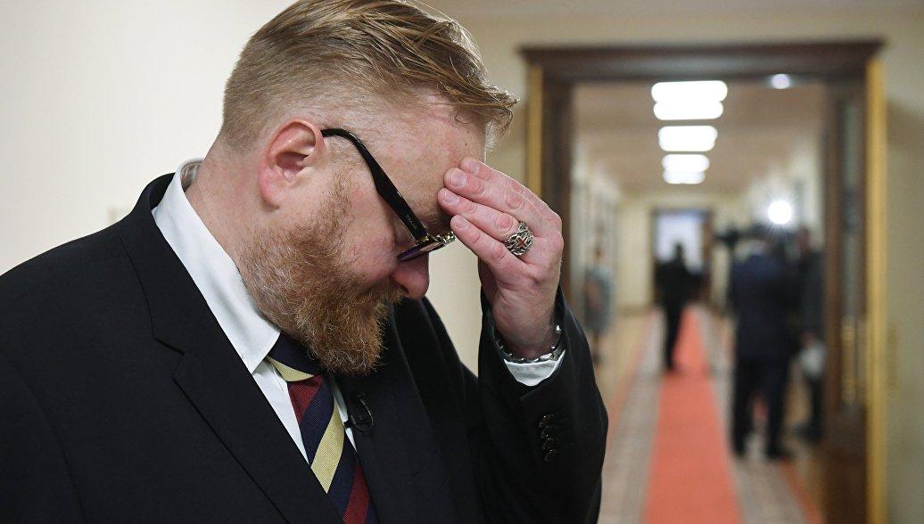 Милонов подготовил законопроект о штрафах за фейковые новости