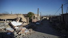 Разрушенные дома в сирийской провинции Эль-Хасаке. Архивное фото