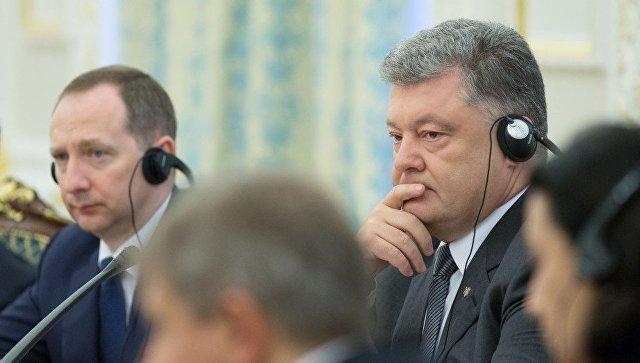 Президент Украины Петр Порошенко на саммите Украина-ЕС. 13 июля 2017