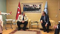 Встреча нового посла РФ в Турции А. Ерхова с директором департамента протокола МИД Турции Ш.Мютевеллиоглу. 15 июля 2017