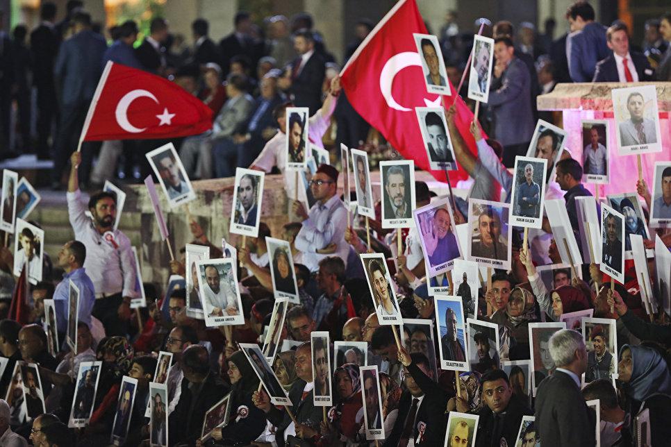 Эрдоган открыл вАнкаре мемориал погибшим при попытке госпереворота