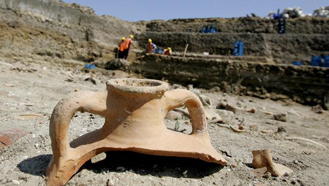 Археологические раскопки в Турции. Архивное фото