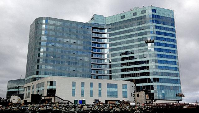 Гостиница Hyatt Regency Vladivostok на мысе Бурный во Владивостоке