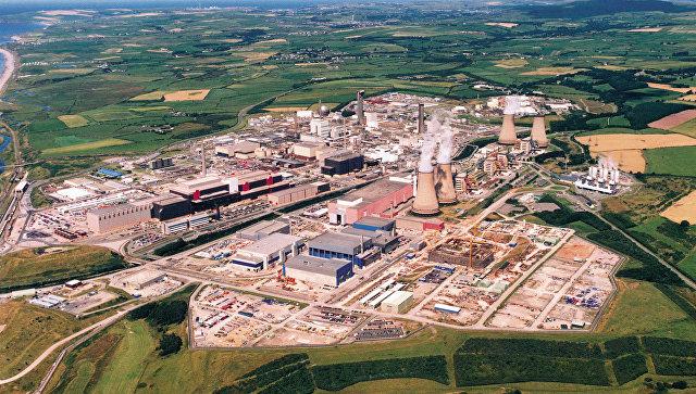 Британский атомный комплекс Селлафилд в графстве Камбрия на побережье Ирландского моря. Архивное фото