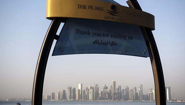 Небоскребы в столице Катара Дохе