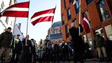 Марш ветеранов СС в Риге. Архивное фото