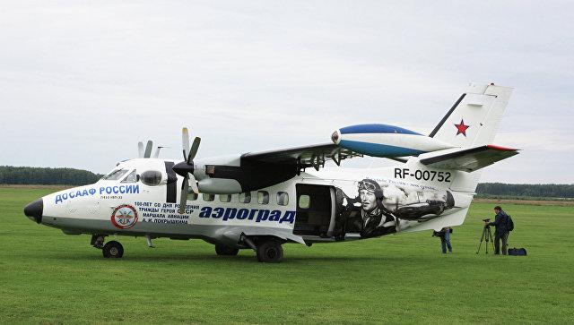 Самолет Л-410. Архивное фото