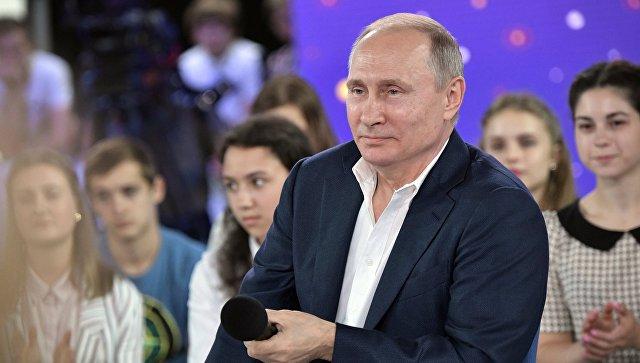 Путин видит плюсы в большом количестве политических партий