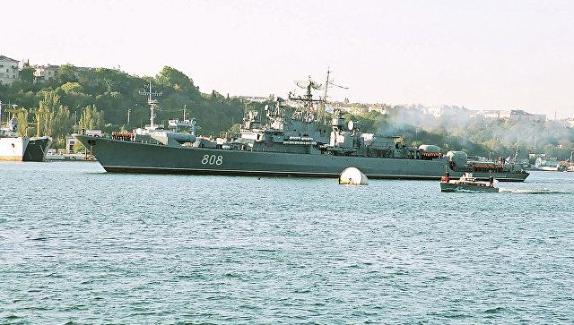 Сторожевой корабль черноморского флота Пытливый. Архивное фото