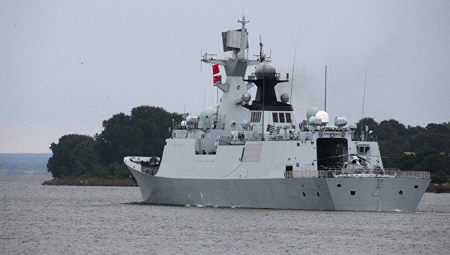 Китайские военные суда направились на 2-ой этап общих учений сРоссией