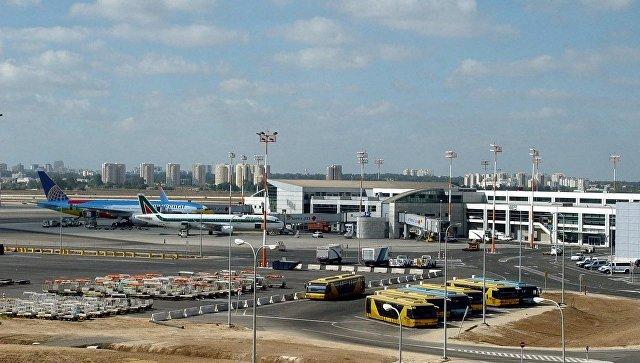 Аэропорт имени Давида Бен-Гуриона в Тель-Авиве