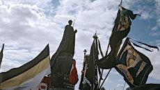 Открытие памятника Николаю II. Архивное фото