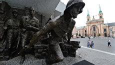 Памятник героям Варшавского восстания 1944 года в Варшаве. Архивное фото