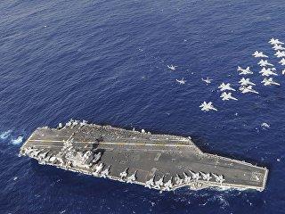 Авианосец ВМС США Нимиц (CVN 68). Архивное фото