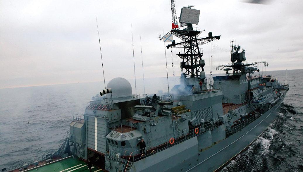 Сторожевой корабль Балтийского флота Неустрашимый. Архивное фото