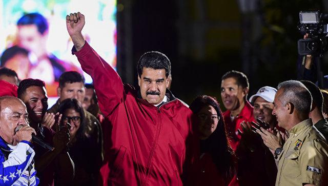 Президент Венесуэлы Николас Мадуро в Каракасе. 31 июля 2017