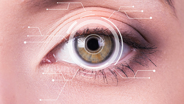 Глаз человека. Архивное фото