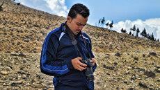 Стрингер Халед аль-Хатыб, работавший с Russia Today. Архивное фото