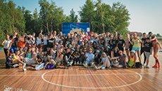 Участники фестиваля Baikal Dance Camp