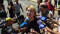 Экс-генпрокурор Венесуэлы Луиза Ортега. Архивное фото