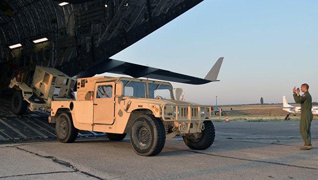 Американские военные на на тренировочной базе в Бульбоаке