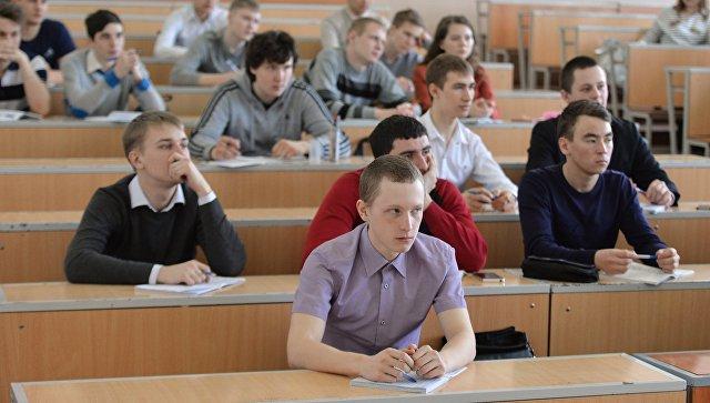 Студенты на занятиях. Архивное фото