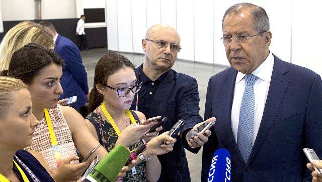 Лавров: В Российской Федерации поддерживают интерес ксозданию Индонезией зоны свободной торговли