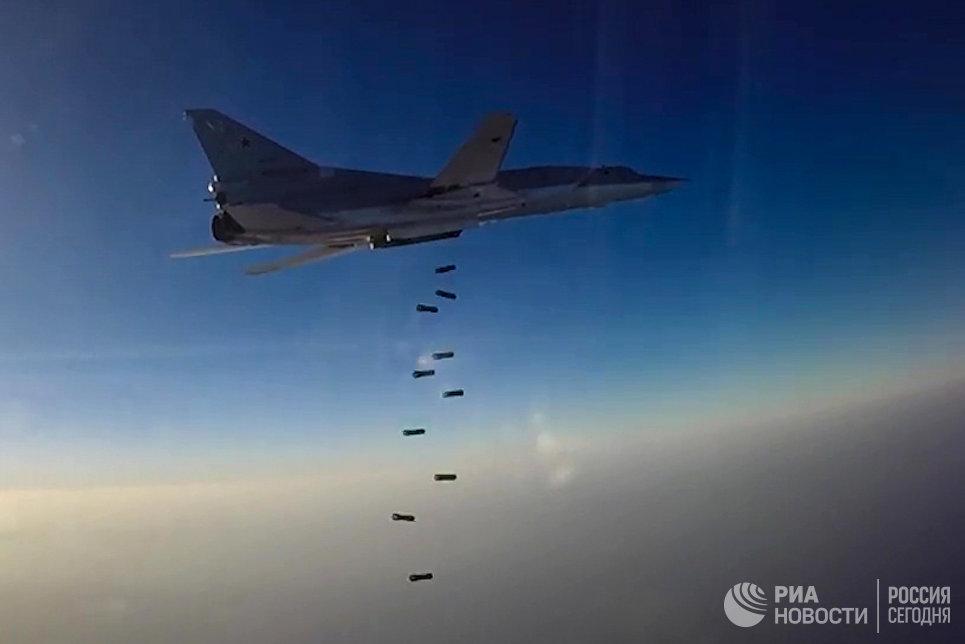 Дальний бомбардировщик ВКС РФ Ту-22М3