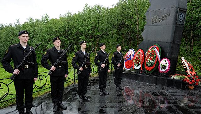 Годовщина гибели атомной подводной лодки Курск. Архивное фото
