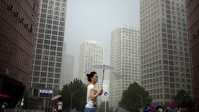 Дождь в Китае. Архивное фото
