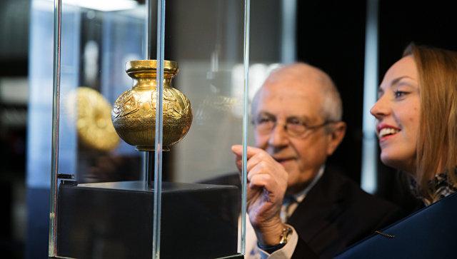 Вкрымском музее опровергли сообщения опередаче золота скифов Украине
