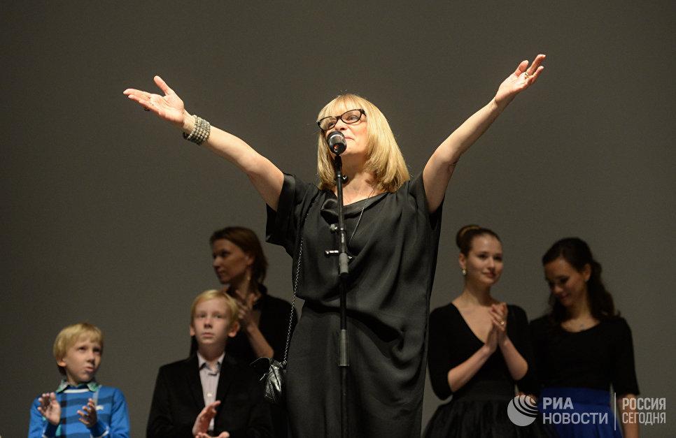 Актриса, режиссер Вера Глаголева