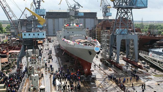 Прибалтийский завод «Янтарь» построит несколько фрегатов для Индии