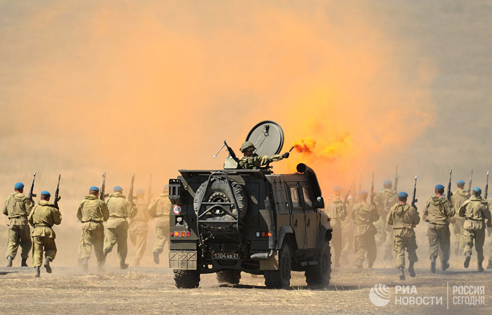 Бронеавтомобиль Рысь на полигоне Кадамовский
