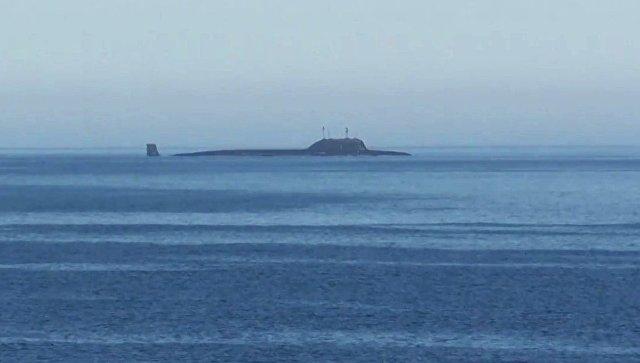 Атомная подводная лодка (АПЛ). Архивное фото