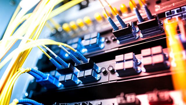 Серверы в технологическом центре обработки данных. Архивное фото