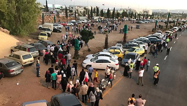 Террористы обстреляли международную выставку в Дамаске, есть погибшие