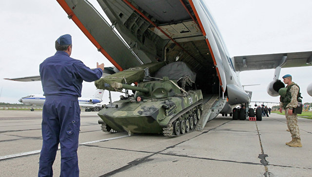 Российско-белорусские стратегические учения Запад-2013, фото с места событий