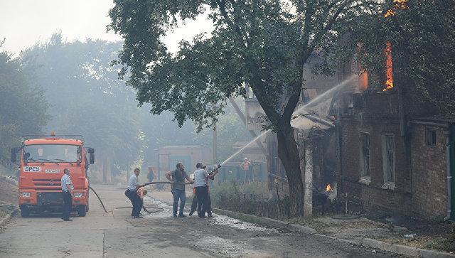 ГУМВД: говорить, что причиной пожара в Ростове-на-Дону был поджог, рано