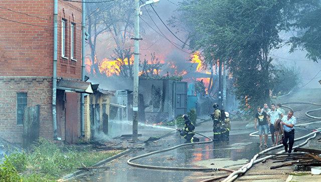 фото пожаров в жилых домах