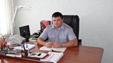 Начальник исправительной колонии №6 Оренбургской области подполковник внутренней службы Сергей Балдин