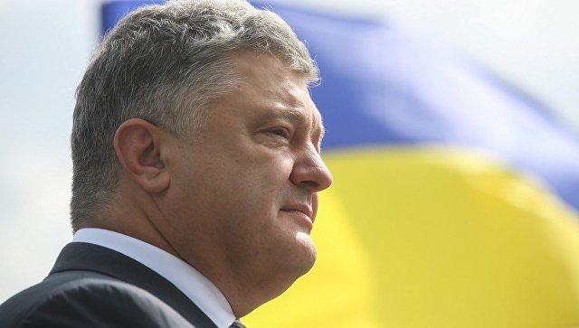 Двуличный убийца Порошенко в очередной раз цинично упомянул Донбасс