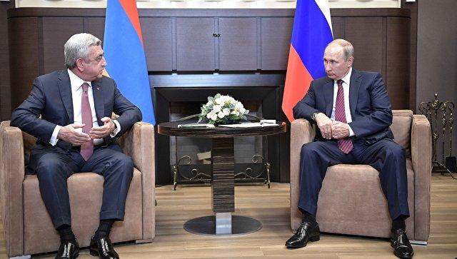 Путин: РФ иАрмению объединяют по-настоящему союзнические отношения