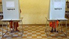 Выборы в Камбоджи. Архивное фото