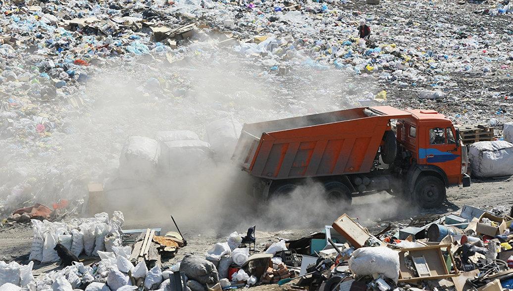 Незаконное складирование отходов. Архивное фото
